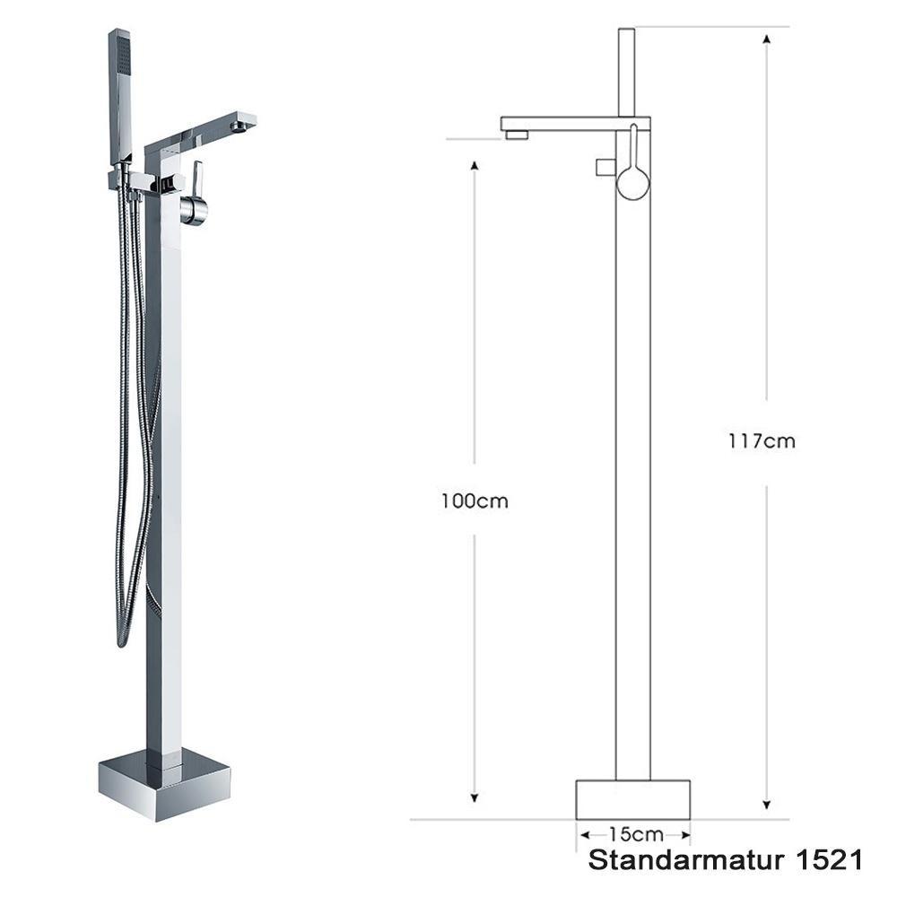 Freestanding shower mixer 1521