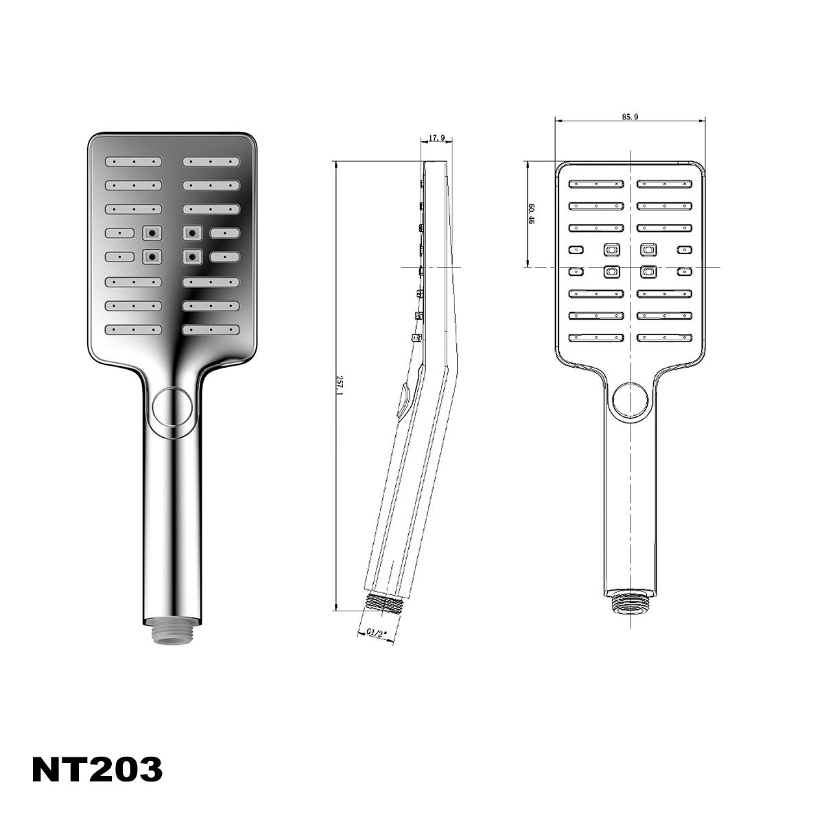 Handbrause NT203