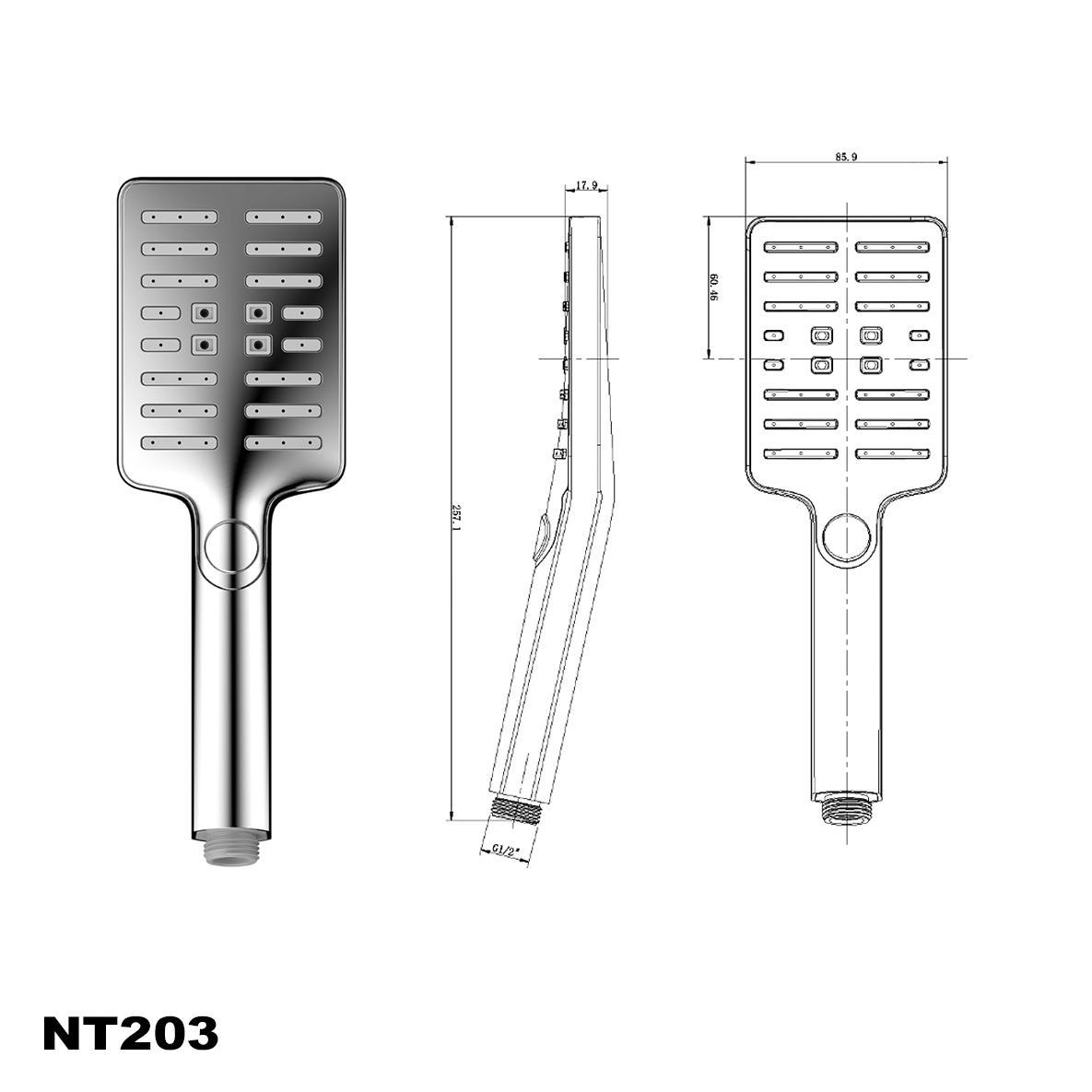 Handbrause NT203
