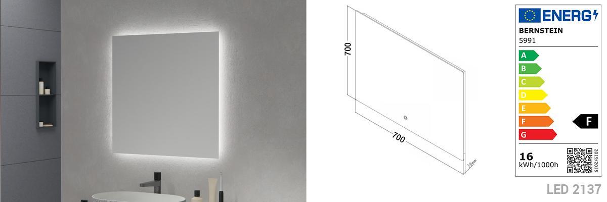 LED-Lichtspiegel 2137
