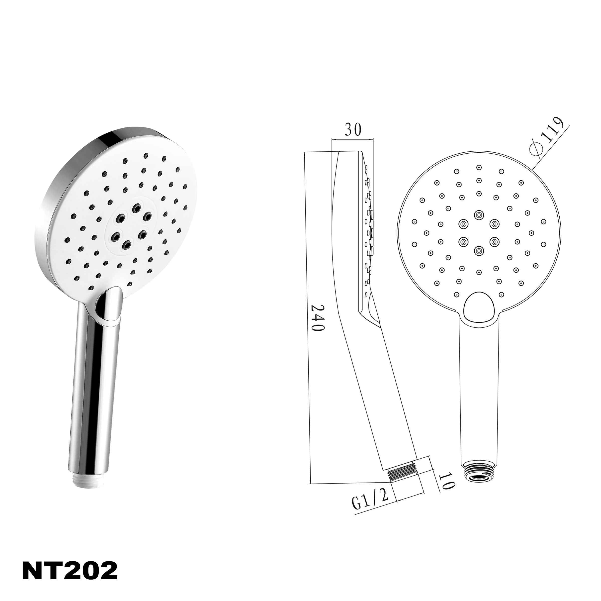 Handbrause NT202
