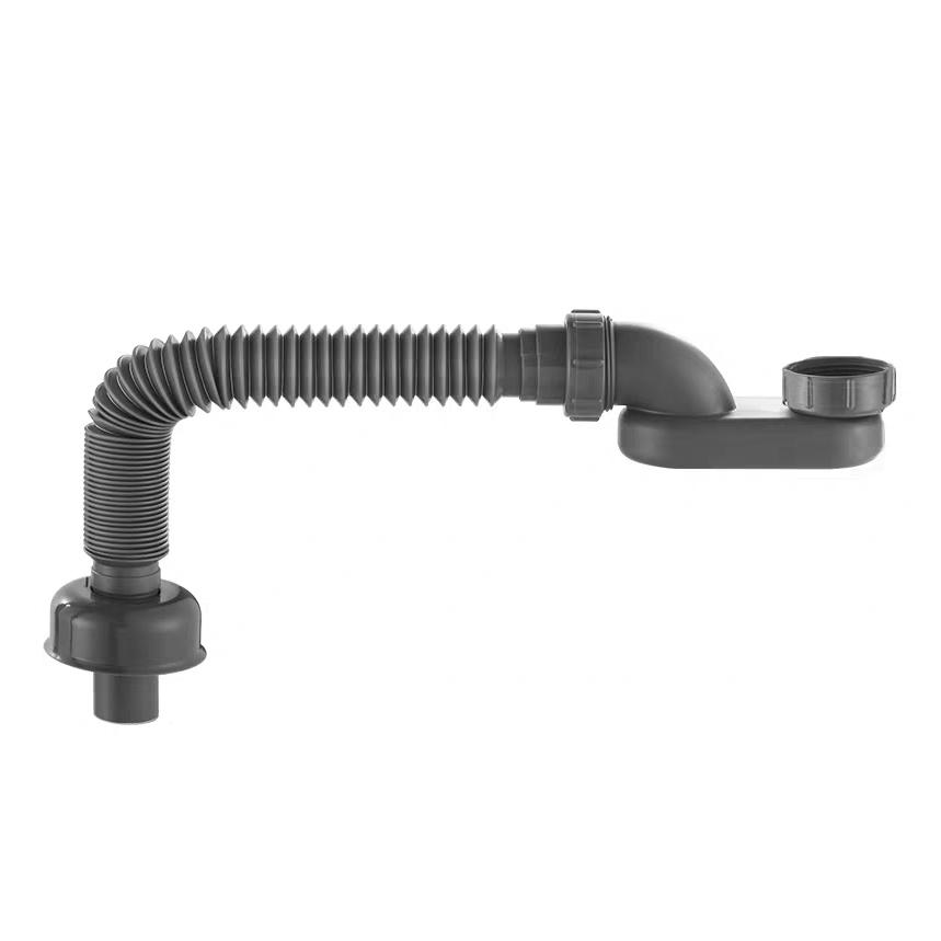 Siphon for freestanding bathtub