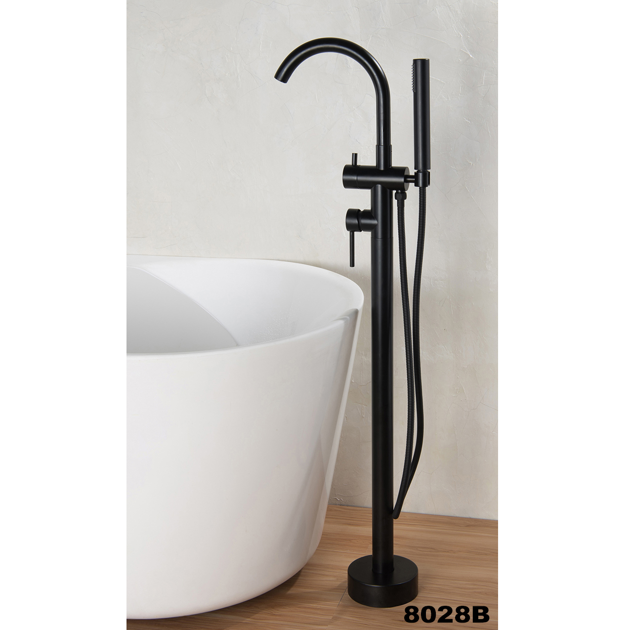 Freestanding shower mixer 8028B