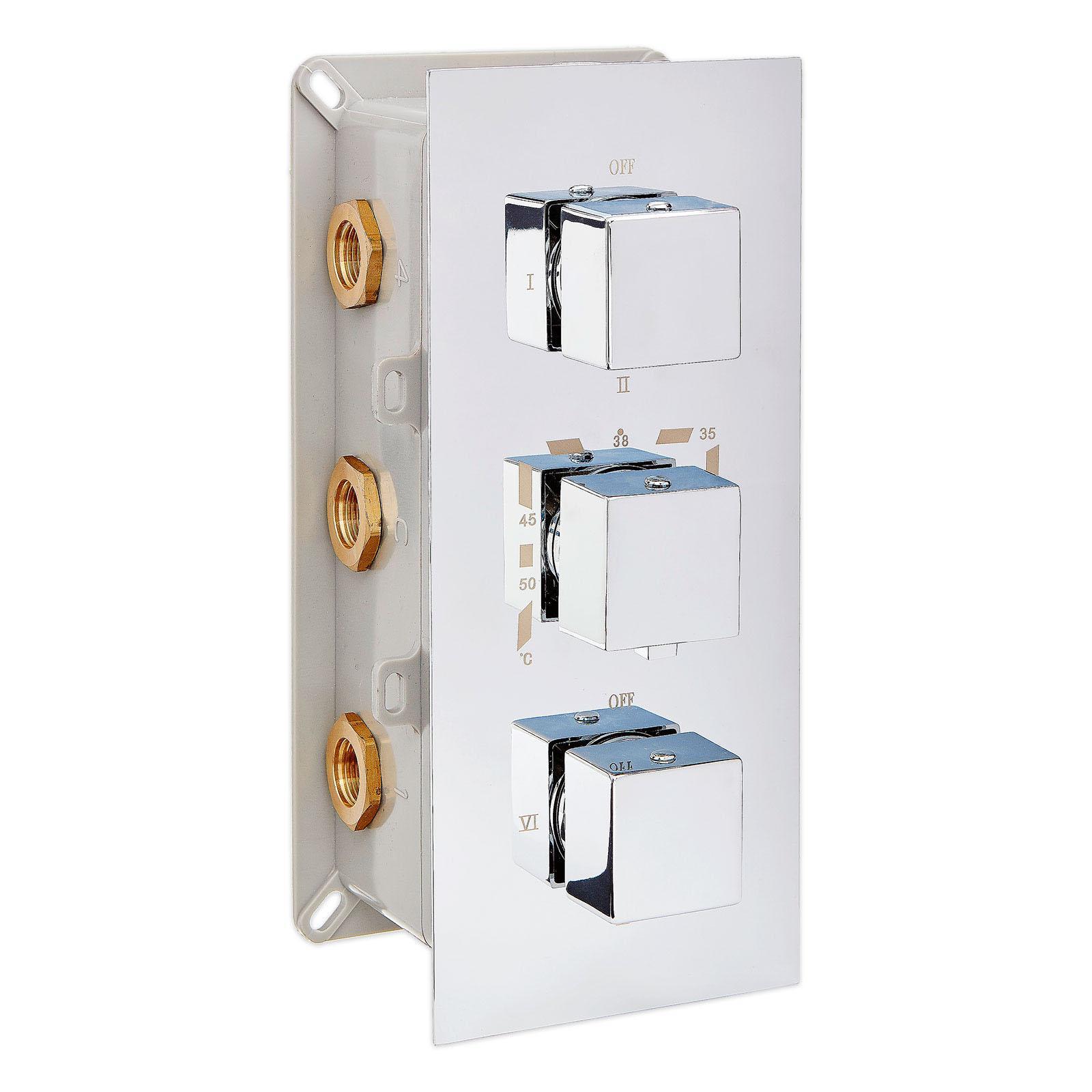 Thermostat-Unterputz-Duscharmatur UP11-02
