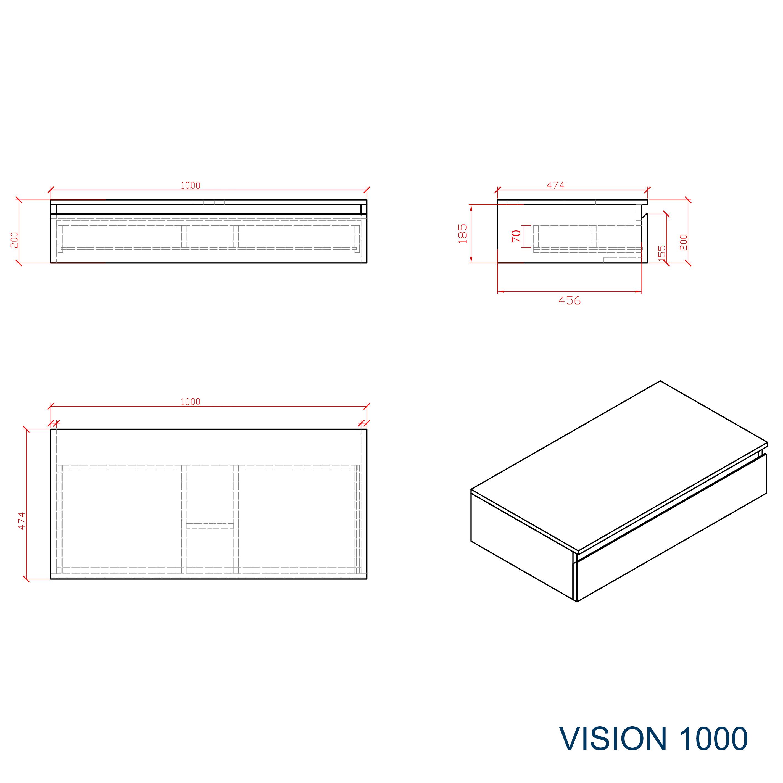 Vision 1000 - Zeichnung