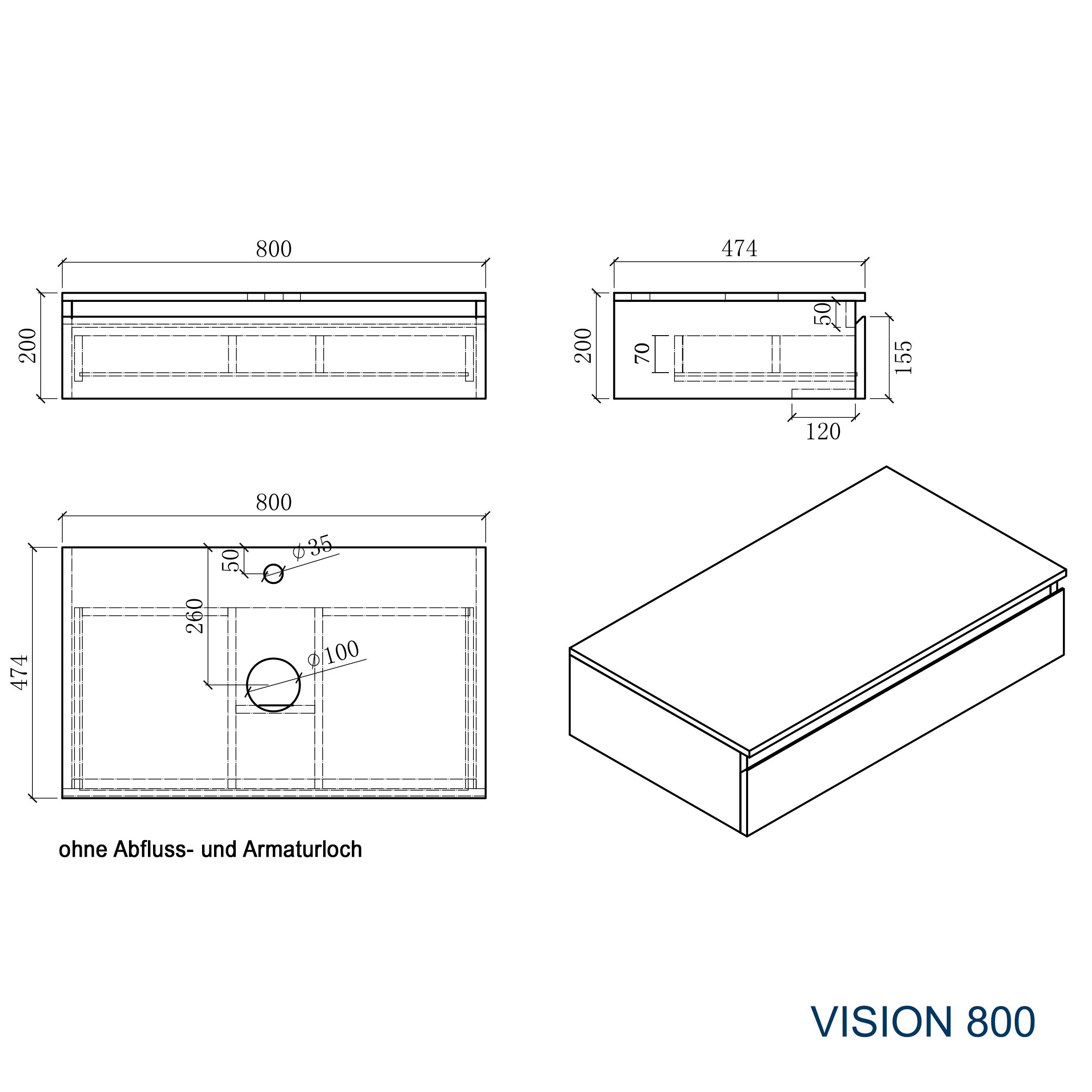 Vision 800 - Drawing