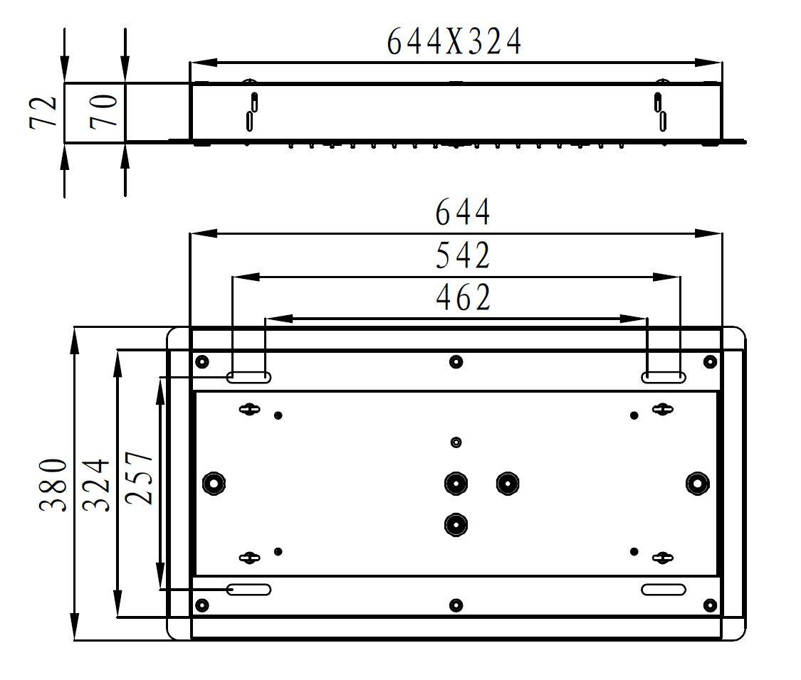Shower head DPG5030 - Drawing 2