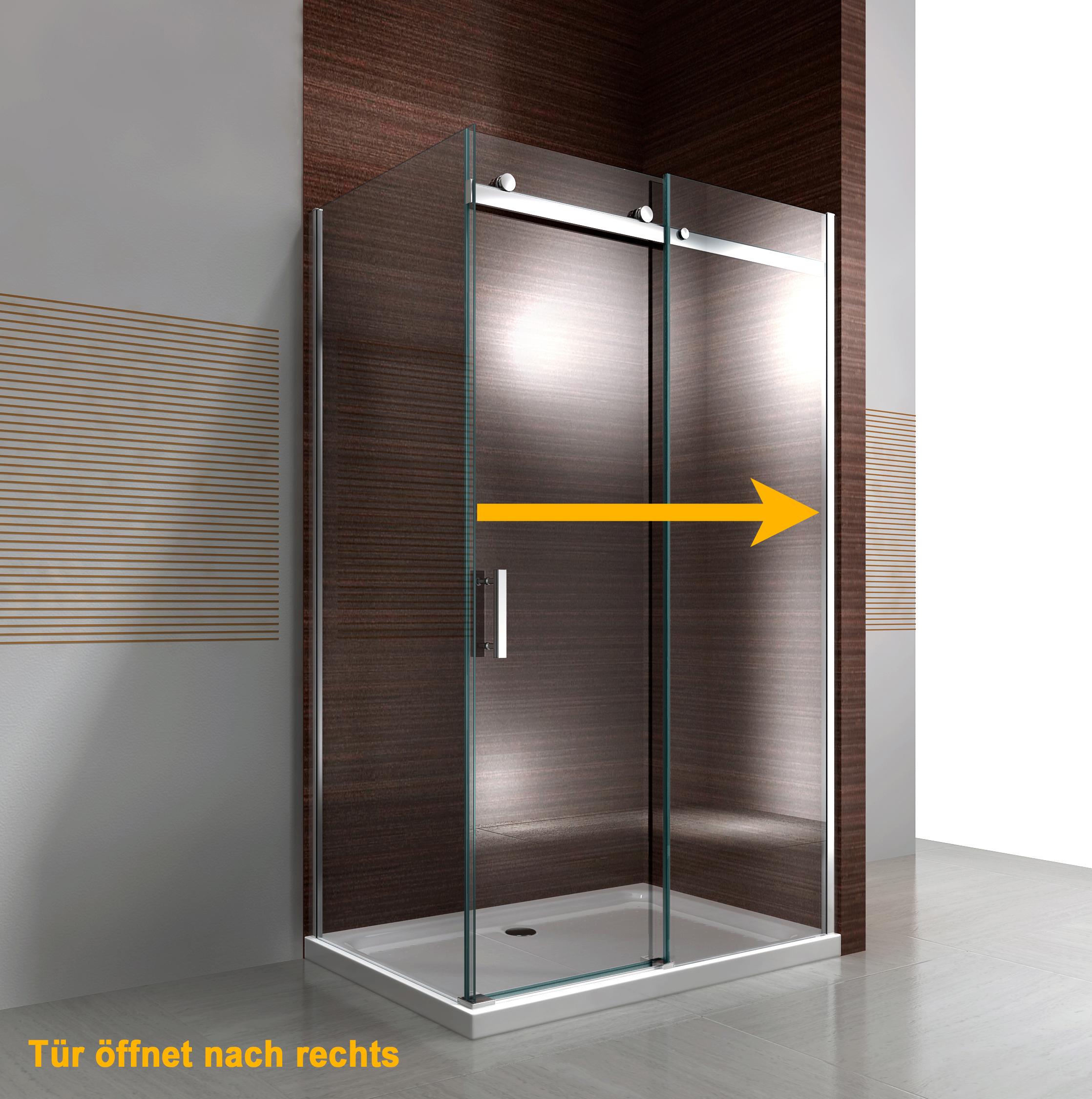 Duschkabine EX806 - Einbau Rechts