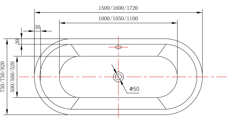 Baignoire Ilot En Acrylique Blanc Mio Dimensions Disponibles Et Robinetterie En Option T W For Only Productprice Von Shopname
