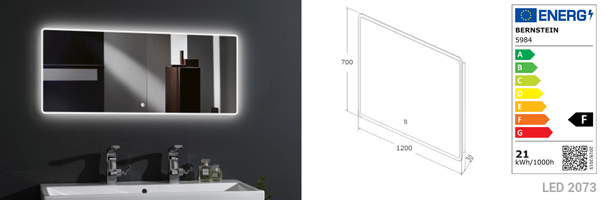 LED Mirror 2073