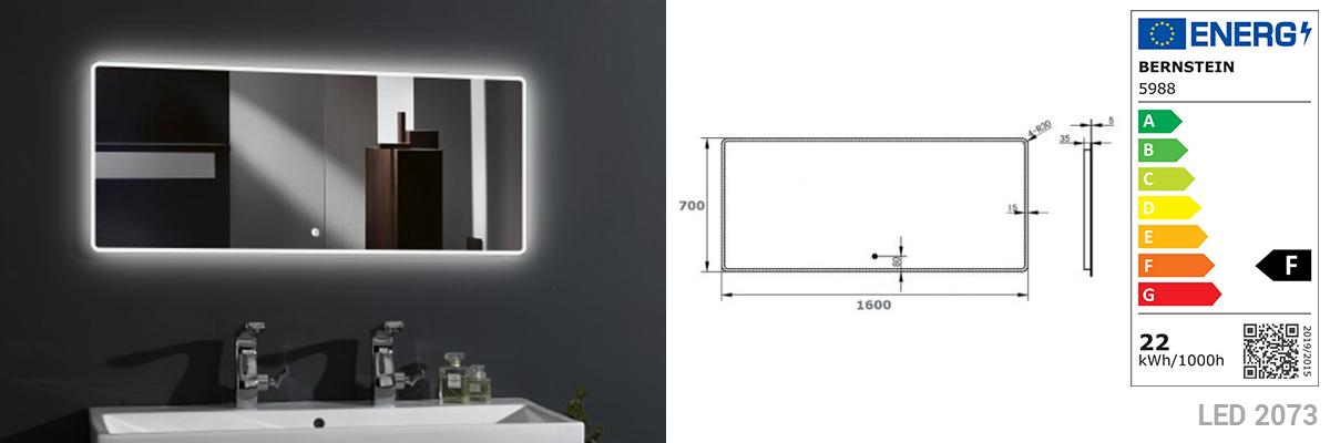 LED-Lichtspiegel 2073