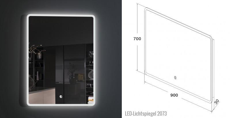 Mirror LED 2073