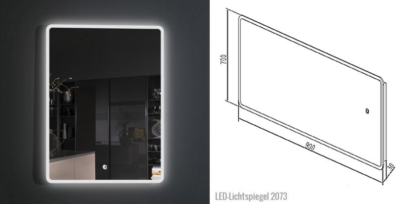 LED-Lichtspiegel 2073