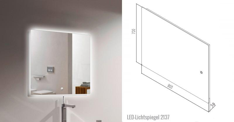 LED-Lichtspiegel 2137