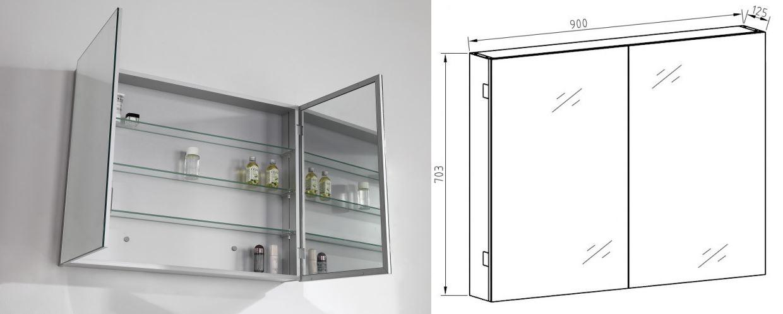 Mirror cabinet G900