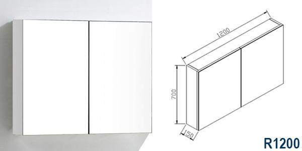 R1200 Spiegelschrank