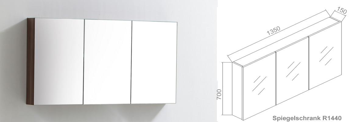 R1440 Spiegelschrank