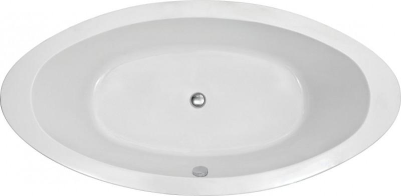 baignoire lot ovale en acrylique modena blanc 185 x 91cm ebay. Black Bedroom Furniture Sets. Home Design Ideas
