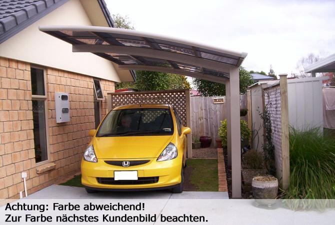 bernstein carport aluminium 5400 x 2700 x 2700 mm silber. Black Bedroom Furniture Sets. Home Design Ideas