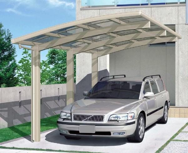 bernstein carport aluminium 5400 x 2700 x 2700 mm silber hohe traglast outdoor carport. Black Bedroom Furniture Sets. Home Design Ideas