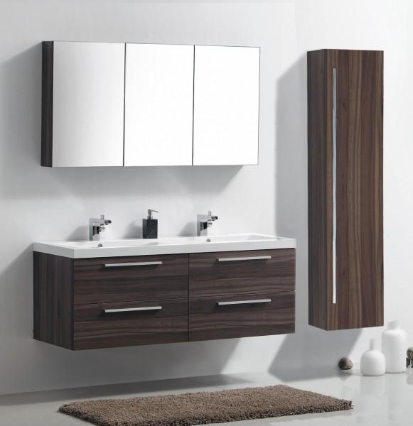 badm bel set r1442r walnuss inkl seitenschrank n12 rechts badewelt badm bel badm bel set. Black Bedroom Furniture Sets. Home Design Ideas