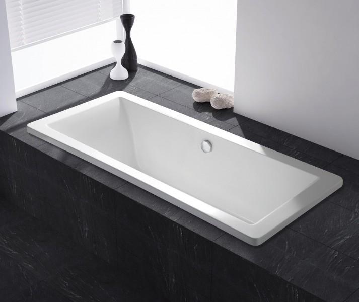 Einbauwanne Acryl-Badewanne O-601 - 150/160/170/180cm ...